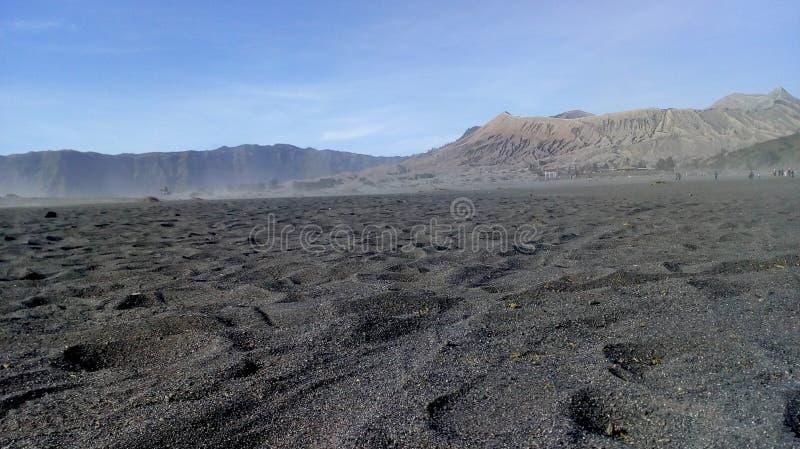 arena en la montaña imágenes de archivo libres de regalías