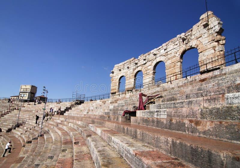 Arena en Verona imágenes de archivo libres de regalías