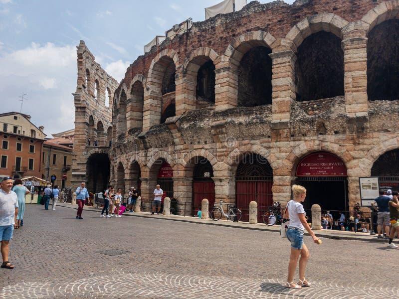 arena Italy Verona fotografia stock