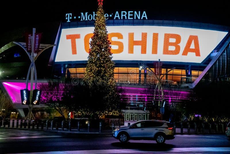 Arena mobile di T, Las Vegas, Nevada immagini stock