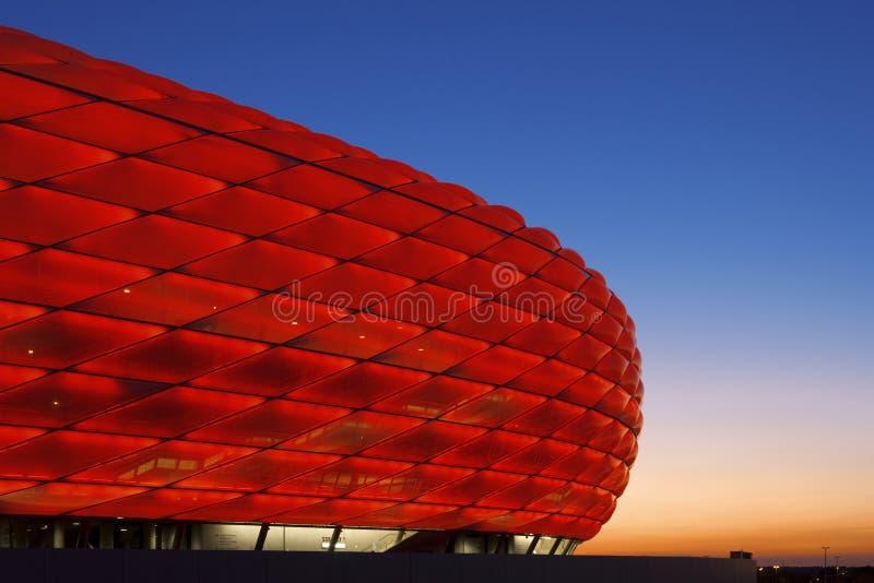 Arena Munich de Allianz fotografia de stock royalty free