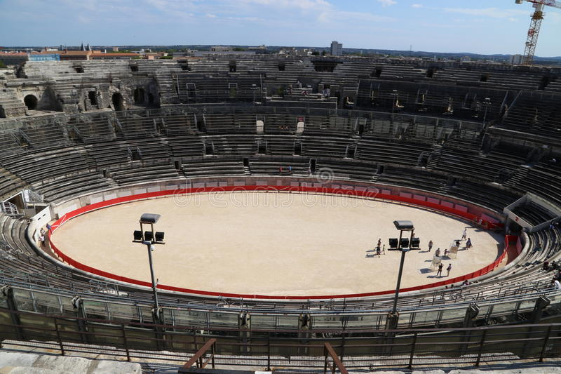 Arena Nimes royalty free stock images