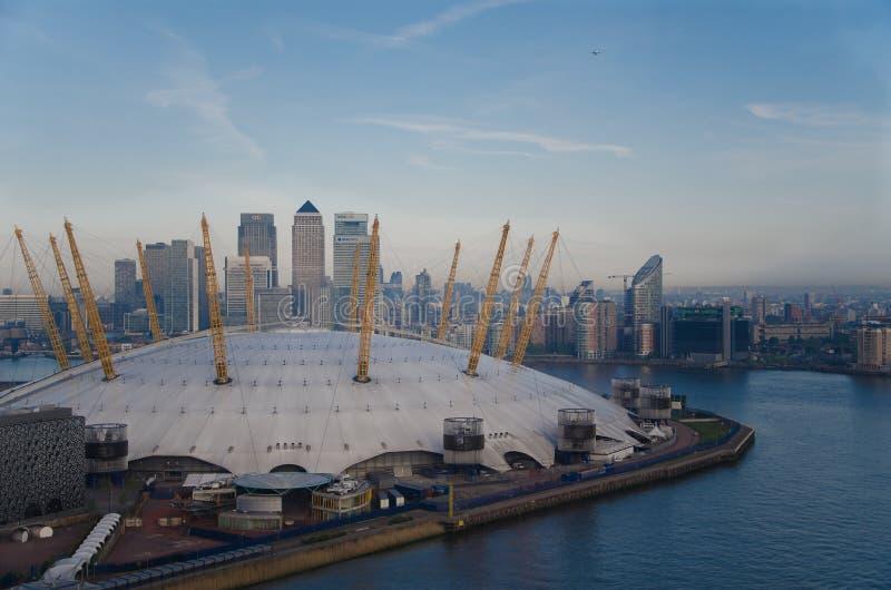 Arena O2 em Londres imagem de stock royalty free