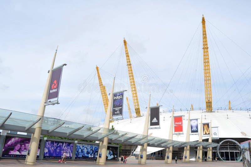 A arena O2 fotografia de stock