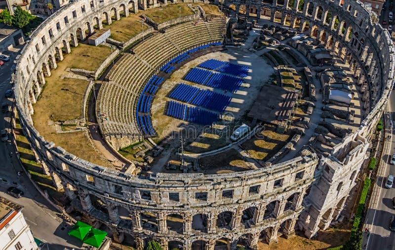 Arena, Pola immagini stock libere da diritti