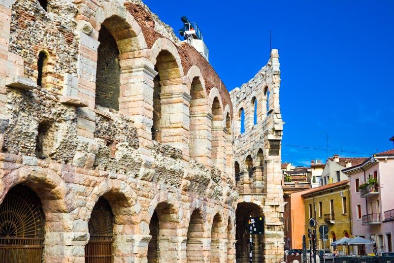Arena romana em Verona fotografia de stock royalty free