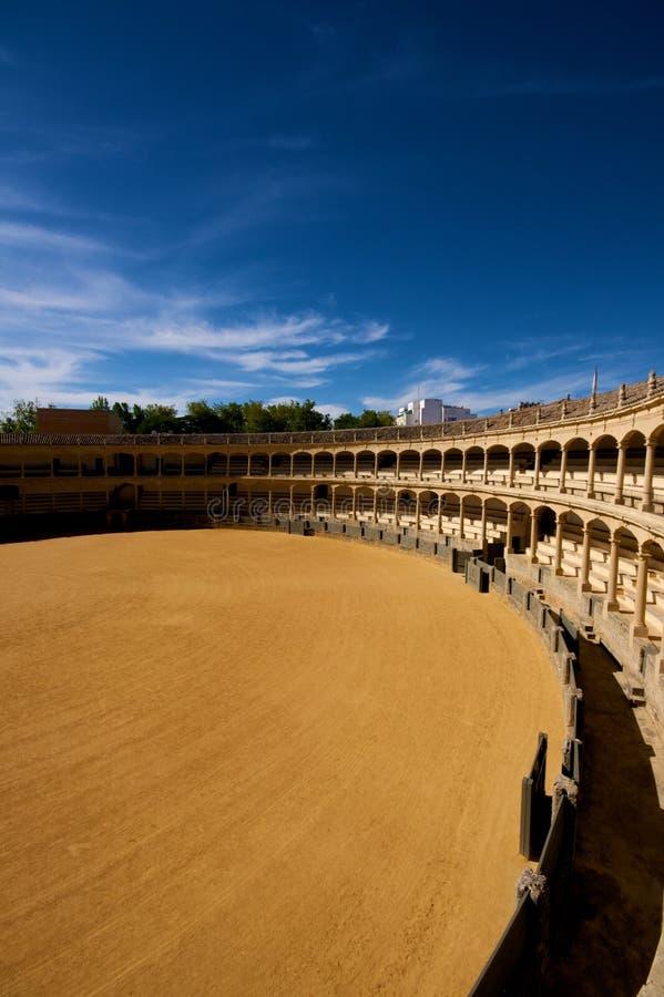 Arena Ronda Spanje España stock foto's