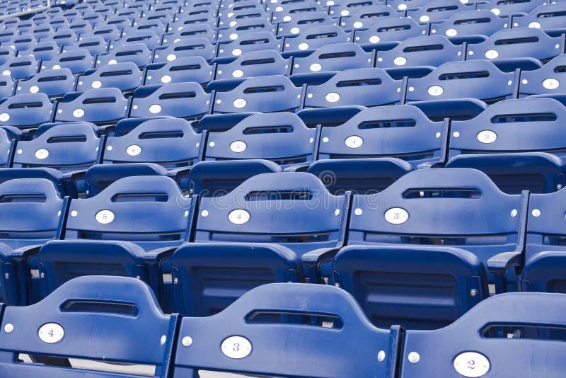 Arena Seats stock photo
