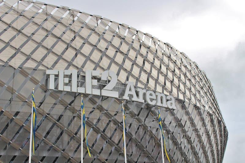 Arena Tele2 imagem de stock royalty free
