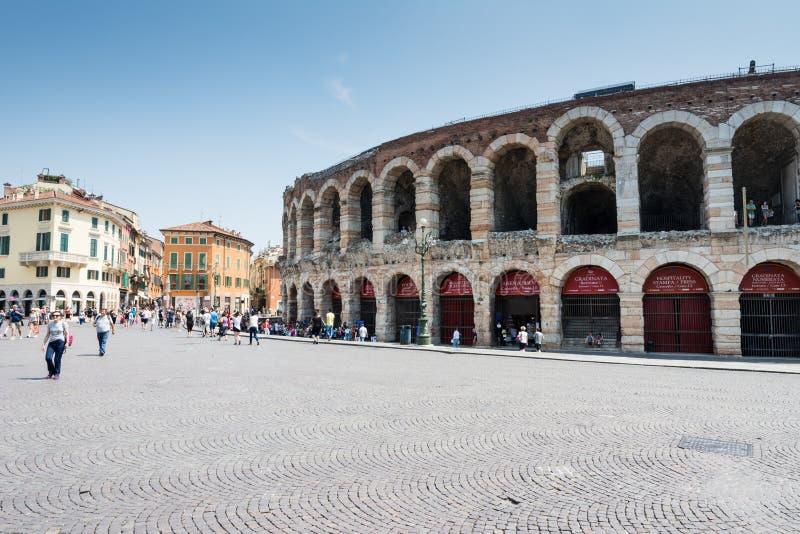 Arena van Verona royalty-vrije stock afbeeldingen