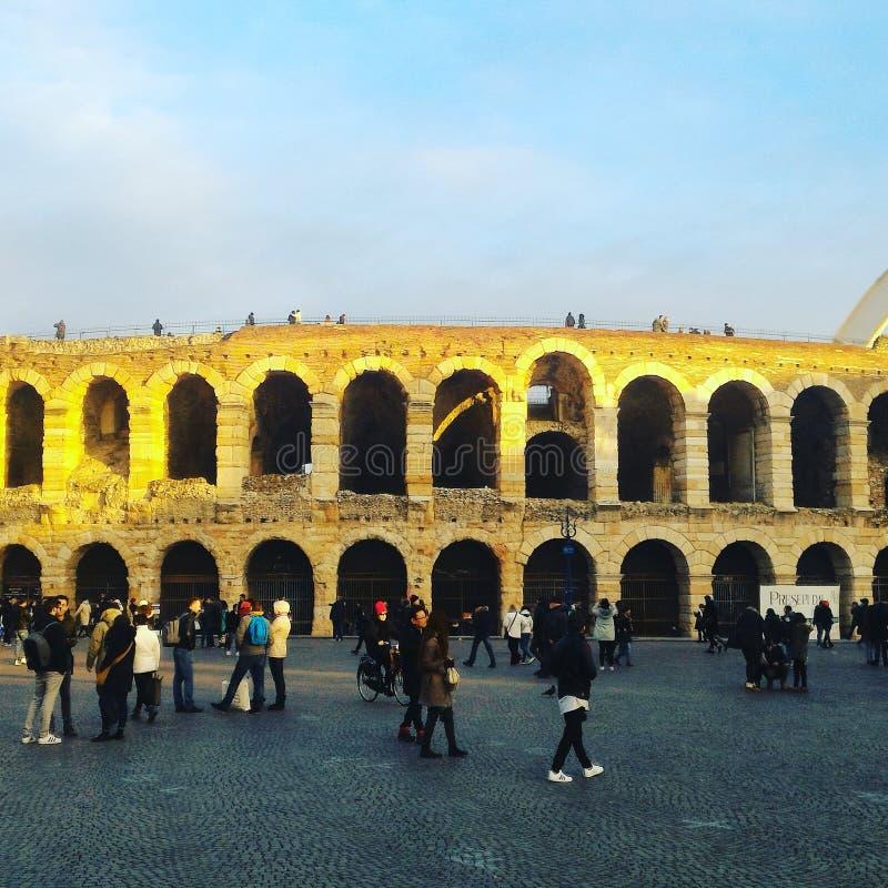 Arena Verona immagine stock libera da diritti