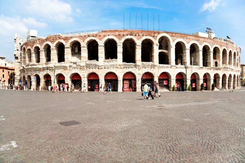 Arena a Verona Italia immagini stock