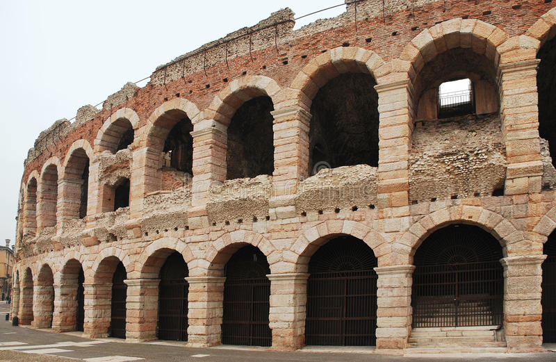 Arena in Verona, Italy royalty free stock images