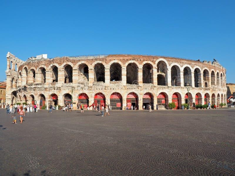 Arena Verona Italy Piazza Bra imagem de stock