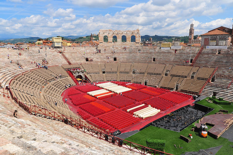 Arena von Verona stockfoto