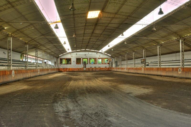 Arena vuota del cavallo fotografie stock