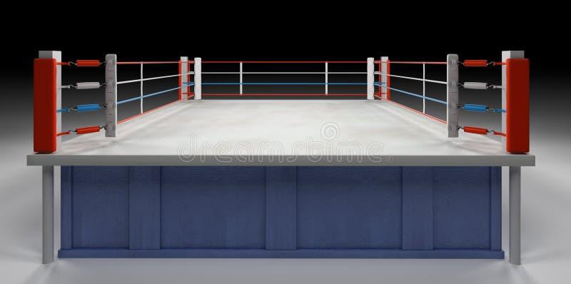arenaboxning royaltyfria bilder