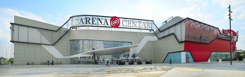 Arenacentrum royalty-vrije stock foto's
