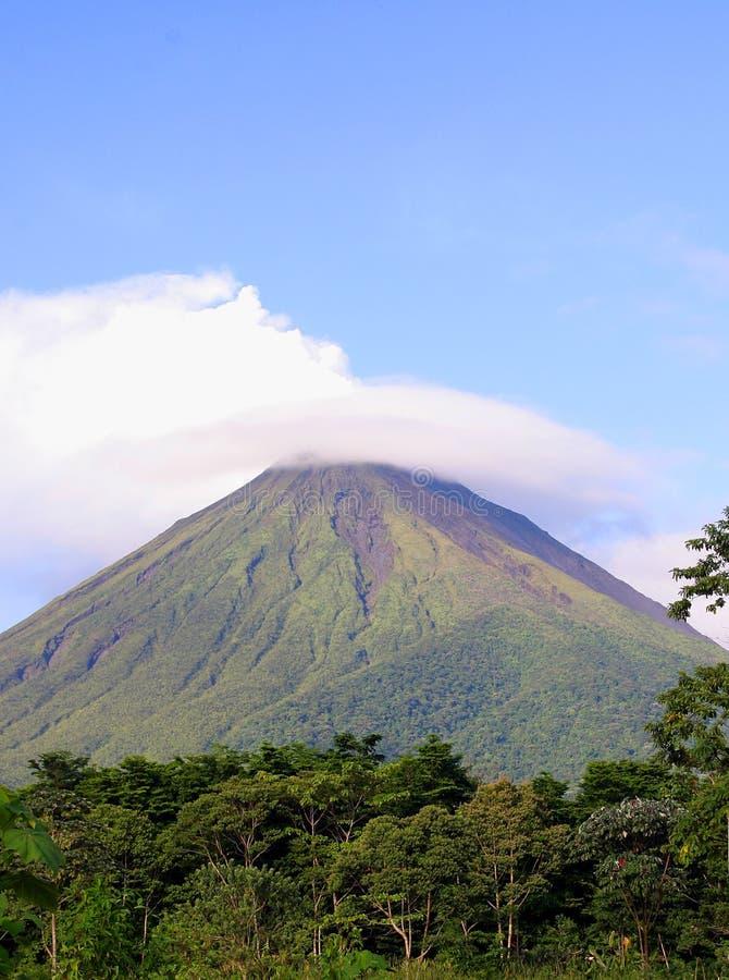arenal Κόστα Ρίκα ηφαίστειο στοκ φωτογραφία με δικαίωμα ελεύθερης χρήσης