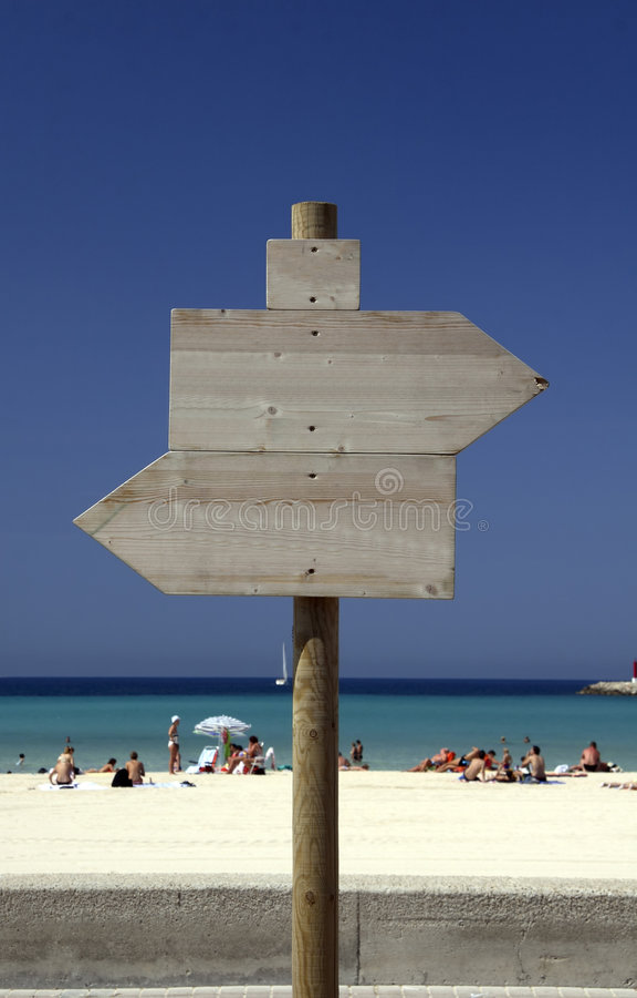 arenal παραλία Μαγιόρκα στοκ εικόνα