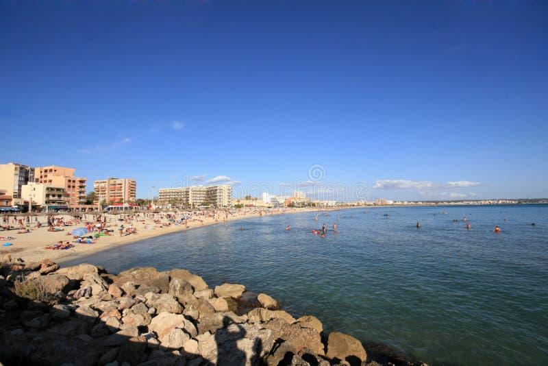 Arenal Strand royalty-vrije stock fotografie