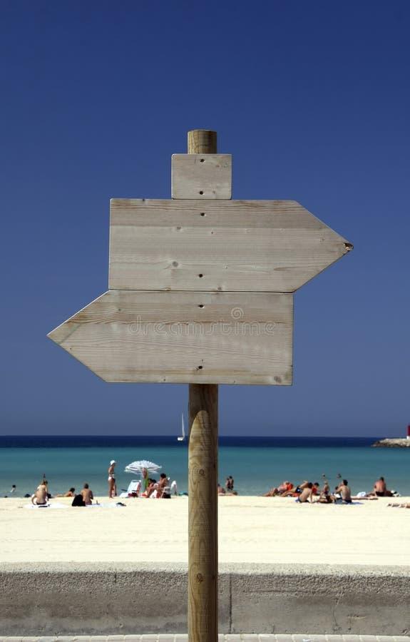 Arenal Strand, Mallorca stock afbeelding