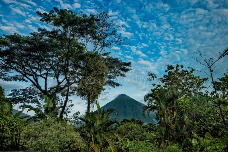 Arenal Volcan fotografia stock libera da diritti