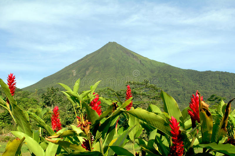 Arenal volcano royalty free stock photography