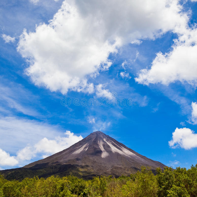 Download Arenal Volcano stock photo. Image of blackened, nature - 27918092