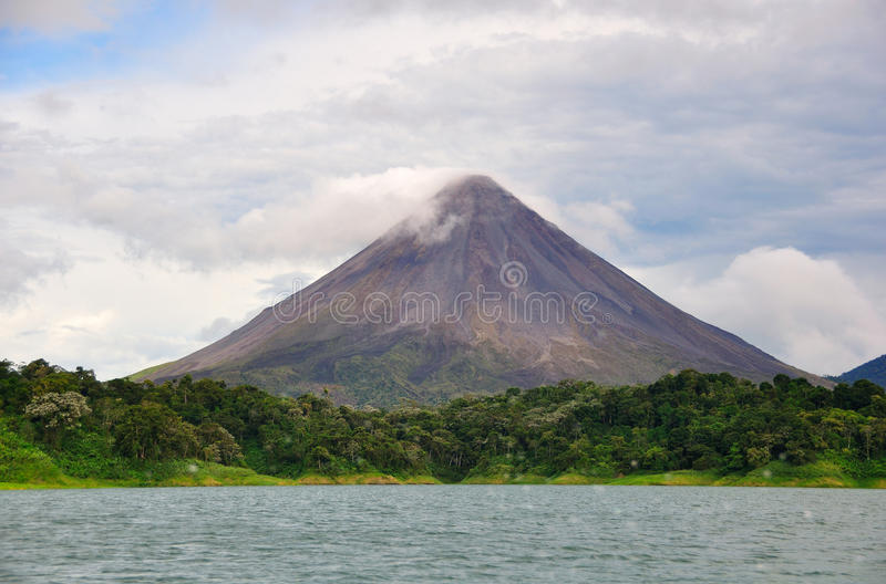 Download Arenal Volcano, Costa Rica stock photo. Image of earthquake - 16620126