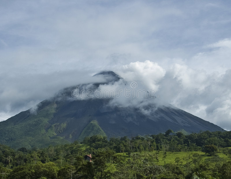 Download Arenal Volcano In Costa Rica. Royalty Free Stock Image - Image: 5774836