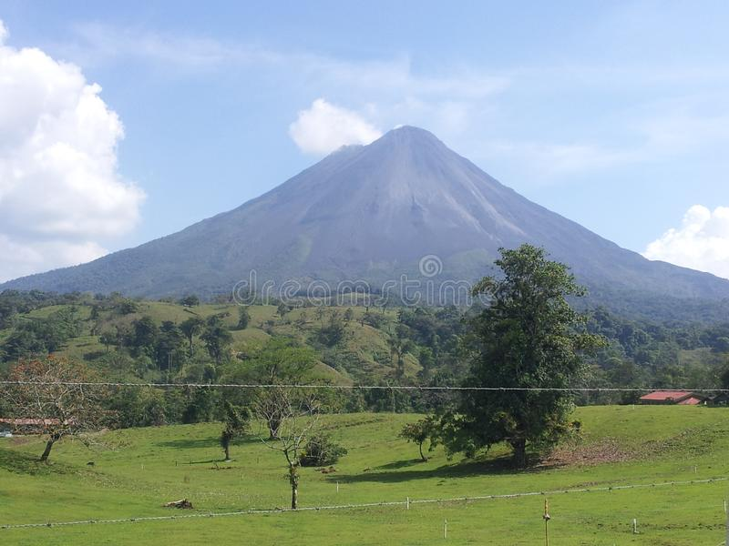 Arenal Volcano National Park Costa Rica nave amazing stock foto's