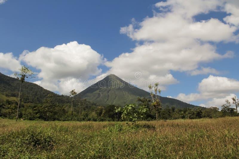 Arenal Vulkaan, Costa Rica royalty-vrije stock foto's