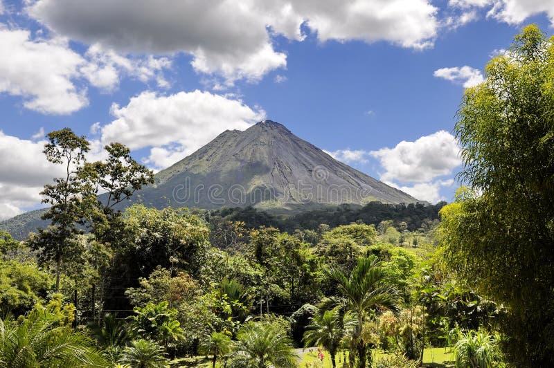 arenal wulkan obrazy royalty free