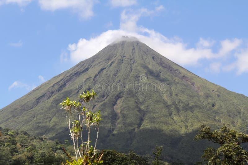 Arenal wulkan, Costa Rica zdjęcie stock
