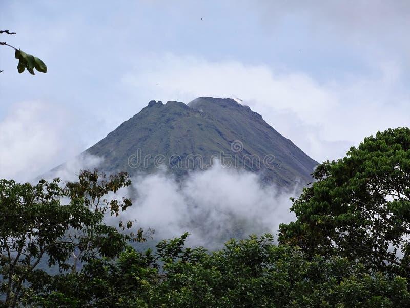 Arenal wulkan Costa Rica obraz stock