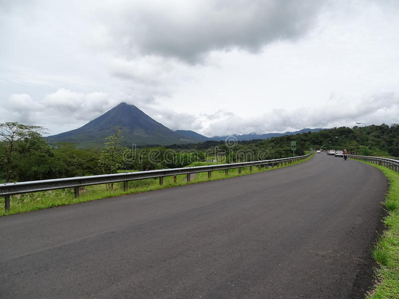 Arenal wulkan Costa Rica fotografia royalty free
