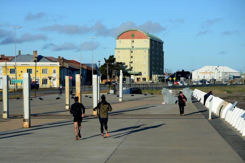 Arenas de Punta chile imagens de stock