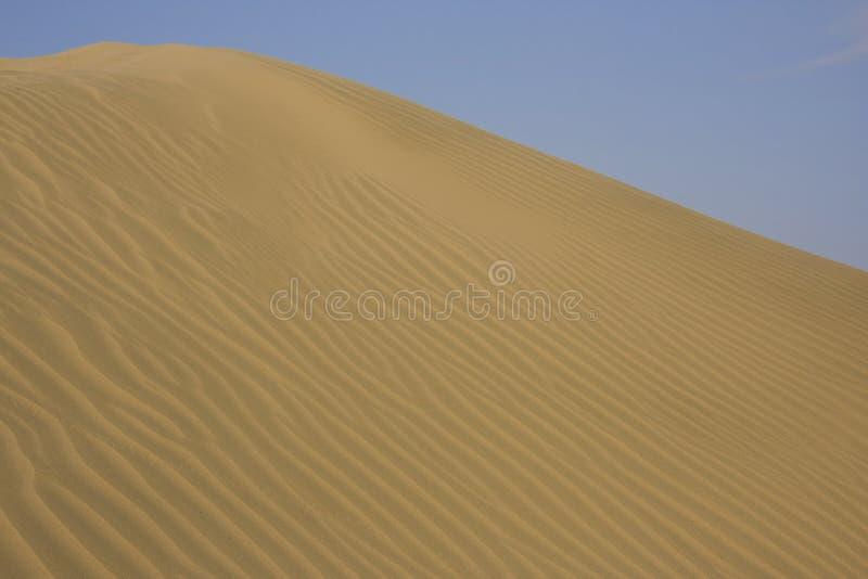 Arenas del desierto foto de archivo libre de regalías