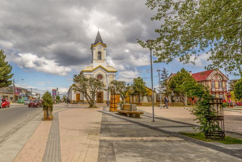 Arene di Punta, Cile fotografia stock libera da diritti