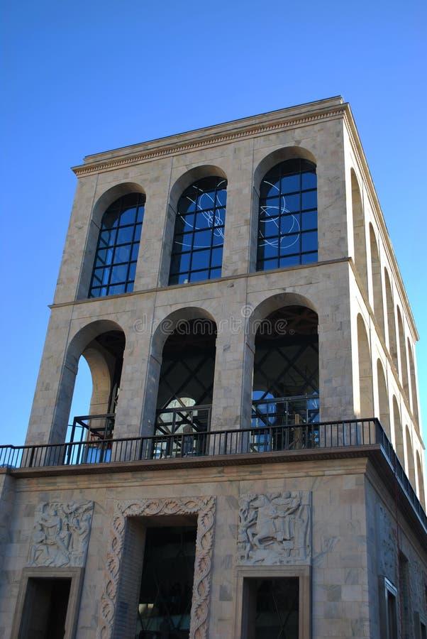 Arengario Palace, Milan royalty free stock photo