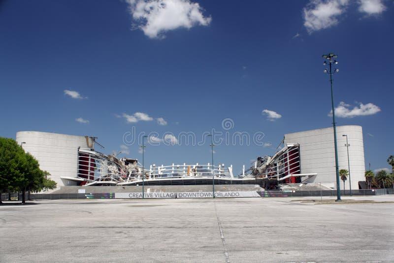areny (1) amway rozbiórka Orlando zdjęcia royalty free