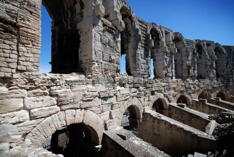 areny arles France część Provence rzymski zdjęcia stock