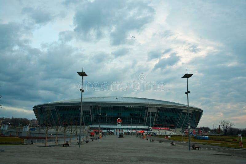 areny donbass Donetsk stadium zdjęcie royalty free