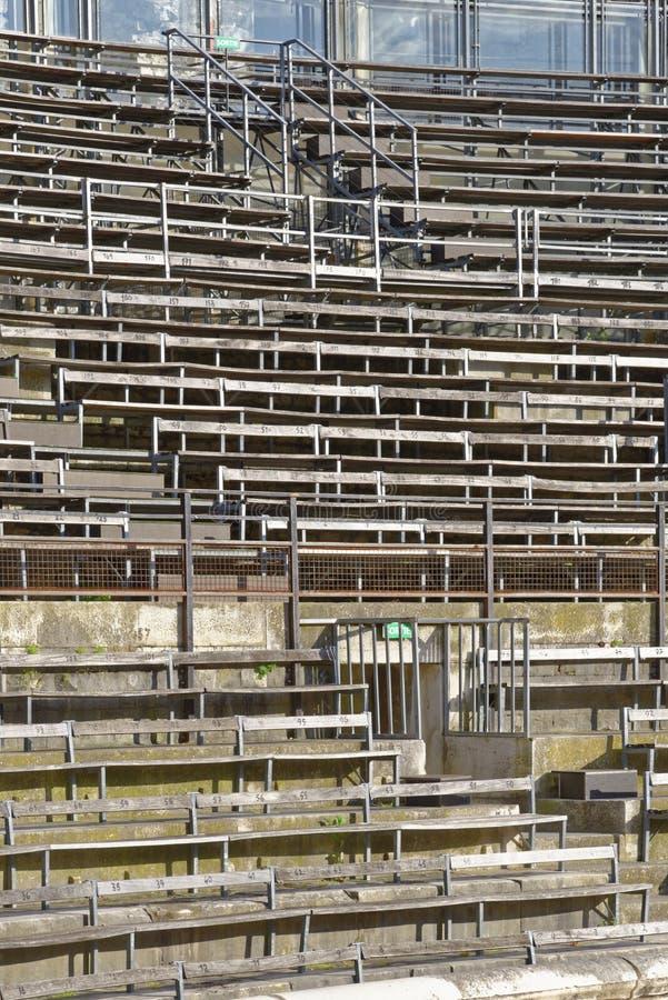 Areny miejsca siedzące zdjęcie royalty free