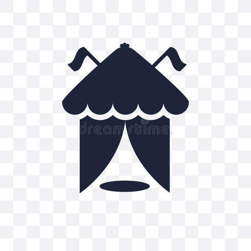 areny przejrzysta ikona arena symbolu projekt od Cyrkowego collecti ilustracja wektor