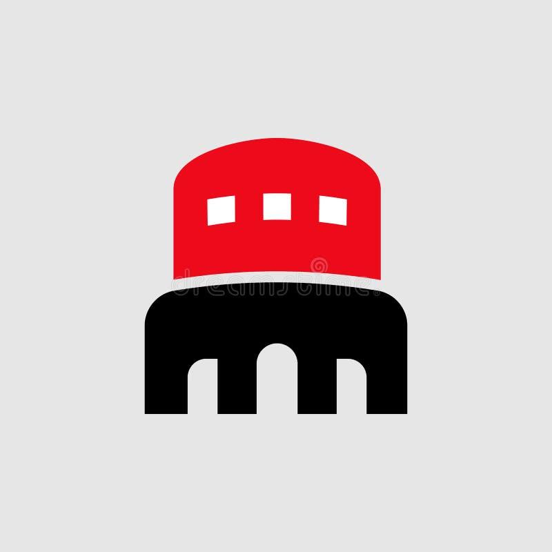 Areny sportowej ikona Element Theatre ikona dla mobilnych pojęcia i sieci apps Szczegółowa areny sportowej ikona może używać dla  royalty ilustracja