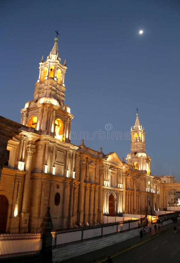 Free Arequipa Cathedral Stock Photography - 44506082