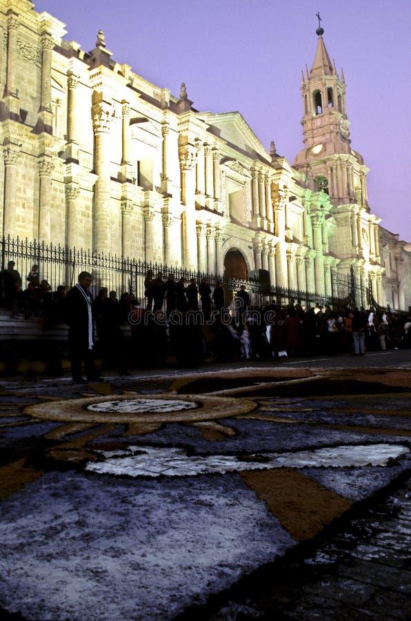 arequipa christi corpus peru στοκ φωτογραφία με δικαίωμα ελεύθερης χρήσης