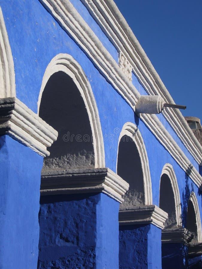 arequipa kloster peru fotografering för bildbyråer